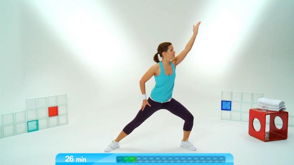 Nadine's Core Training 1 im Stehen & Sitzen